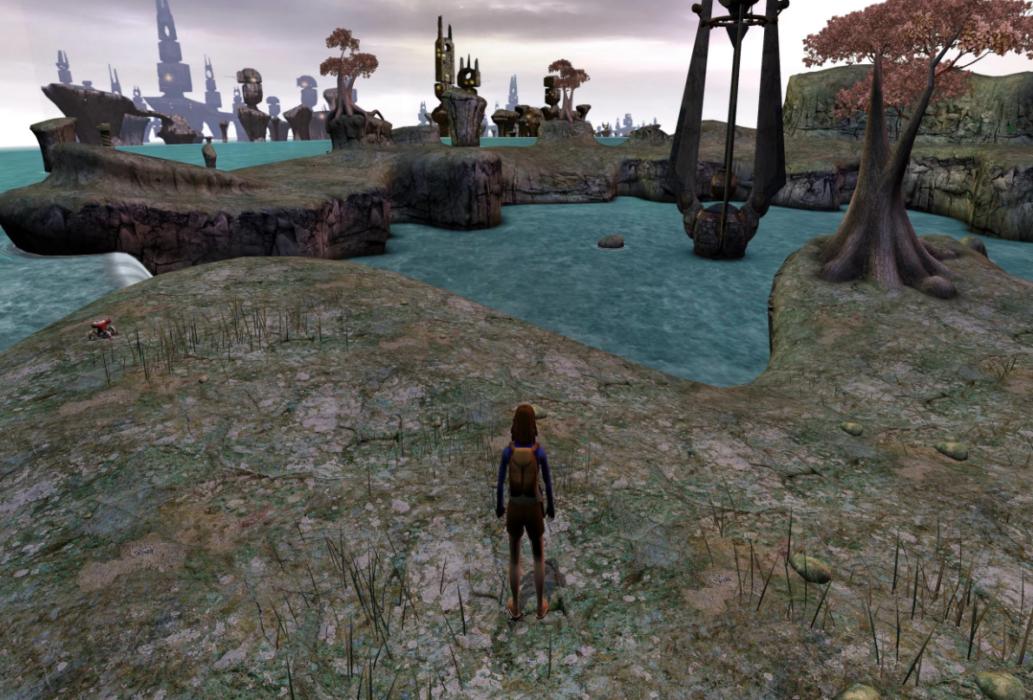 Кадр из игры Myst