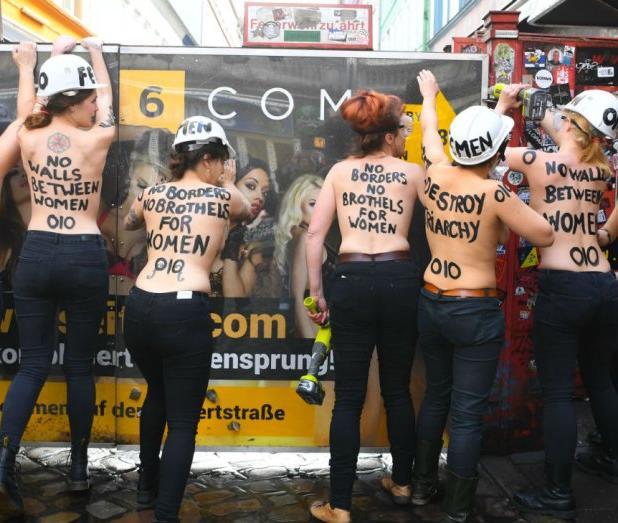 О феминистском движении Femen будет снят художественный фильм