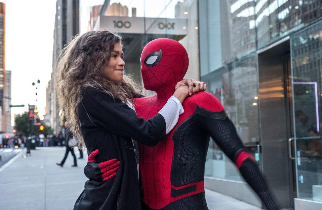 Кадр из фильма «Человек-паук: Вдали от дома»