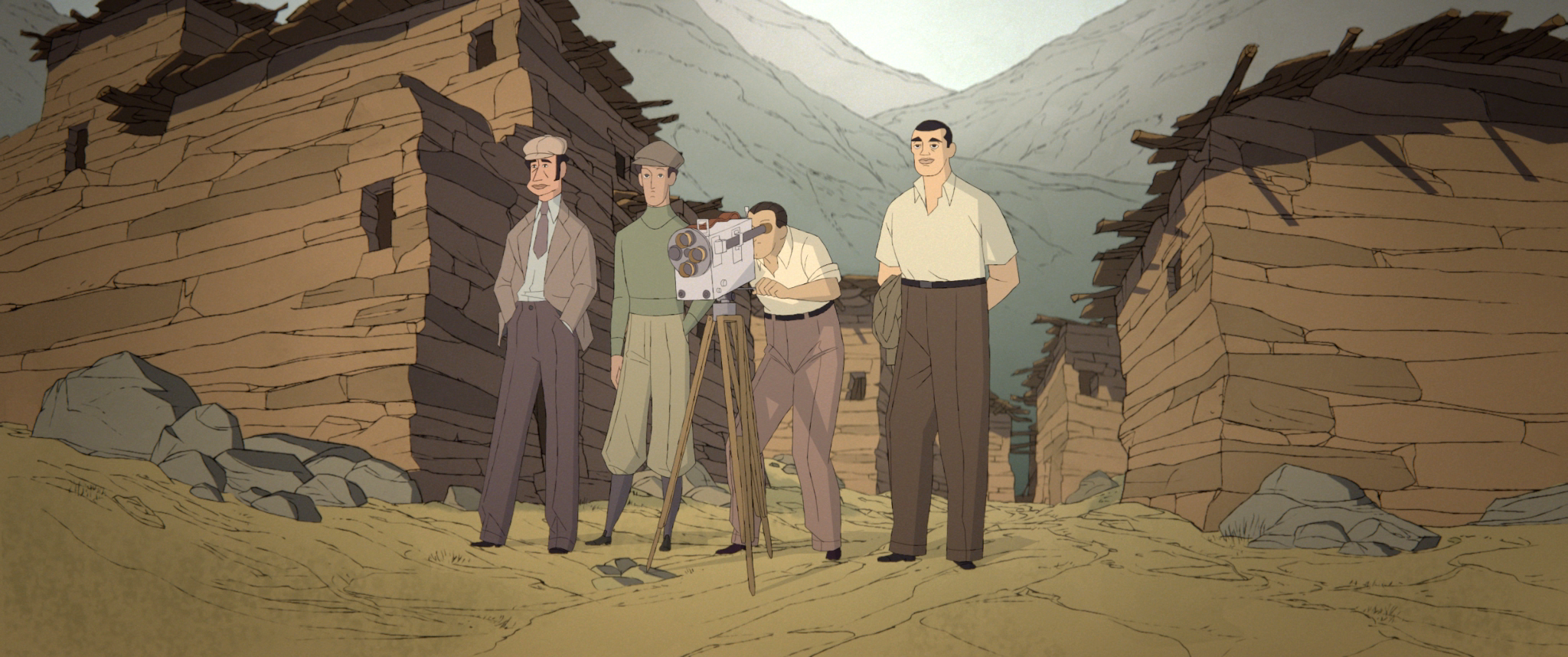 Кадр из фильма «Бунюэль в лабиринте черепах»
