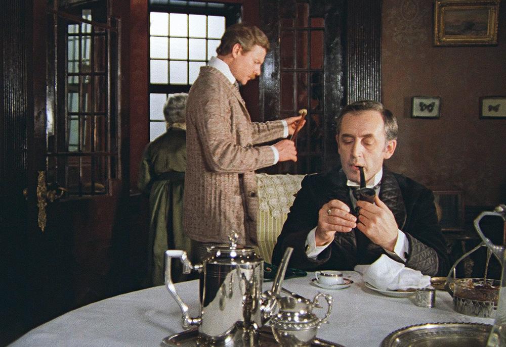 Кадр из фильма «Шерлок Холмс и доктор Ватсон»