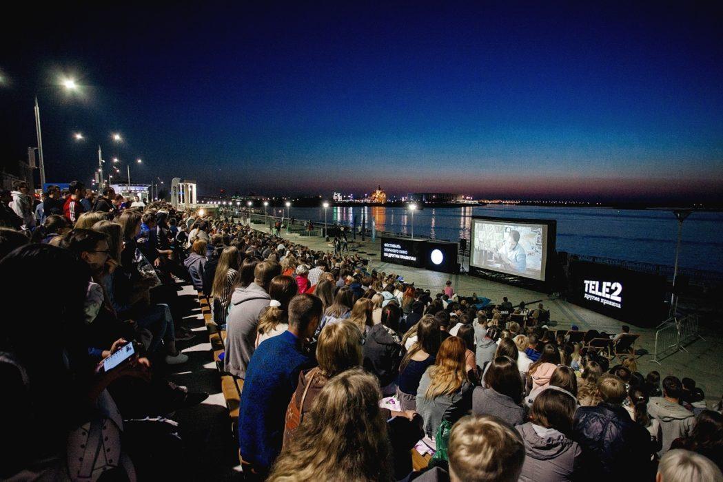 Фотография с Всемирного Фестиваля уличного кино