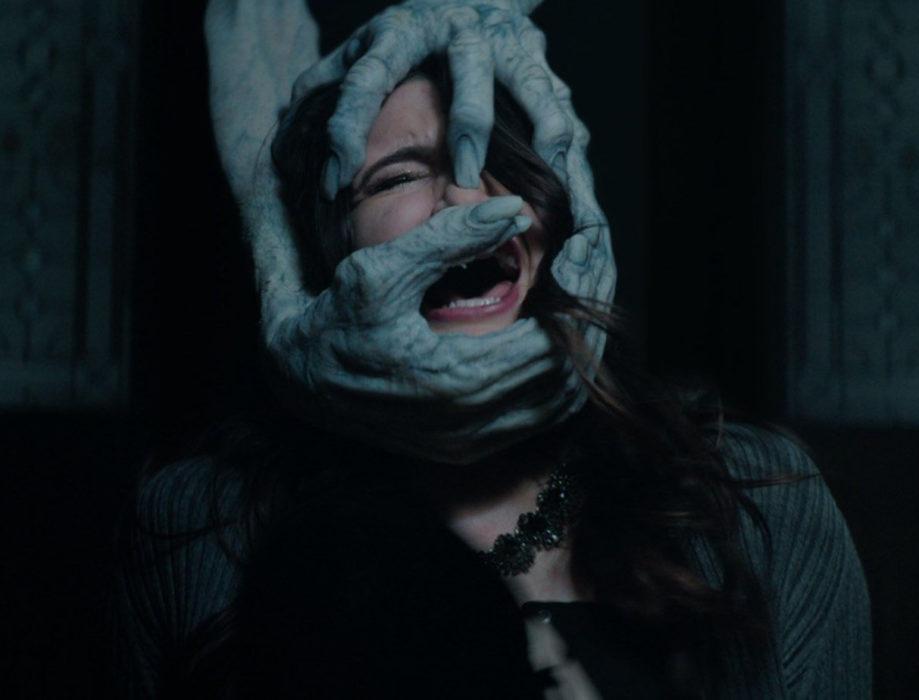 Кадр из фильма «Пункт назначения: Смайл»