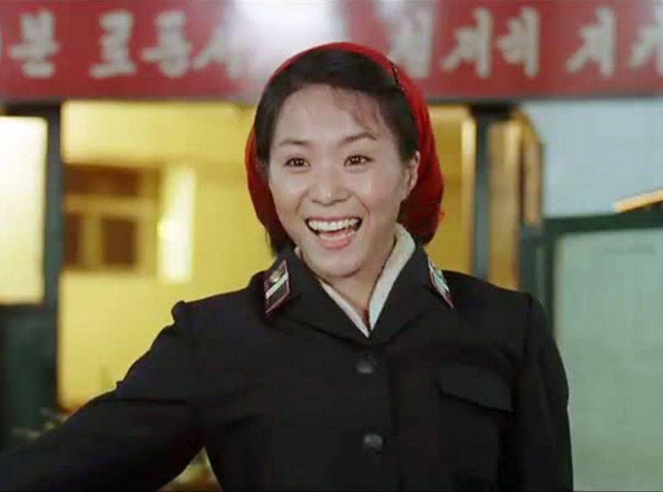 Кадр из фильма «Товарищ Ким летает»