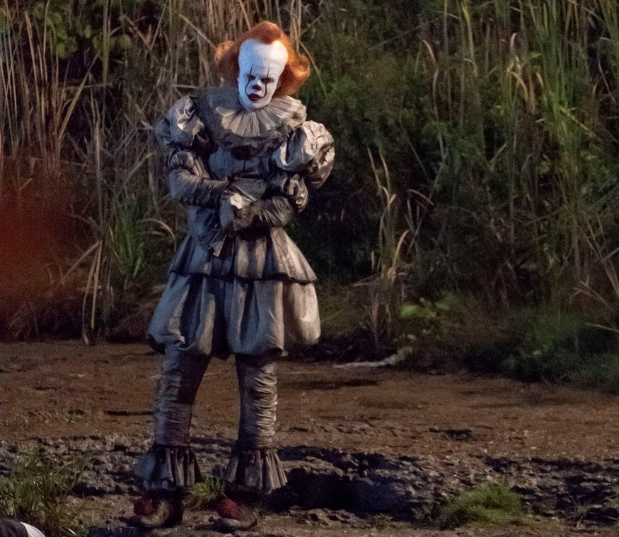 Фотография со съёмок фильма «Оно 2»
