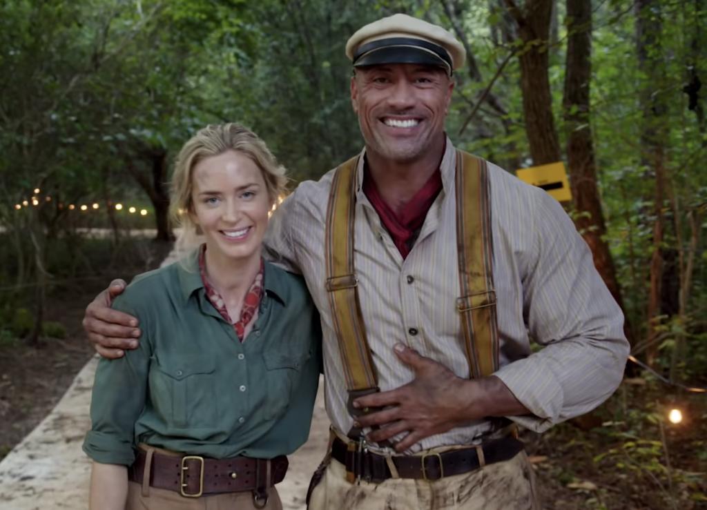Эмили Блант отправляется в плавание с Дуэйном Джонсоном: трейлер «Круиза по джунглям»
