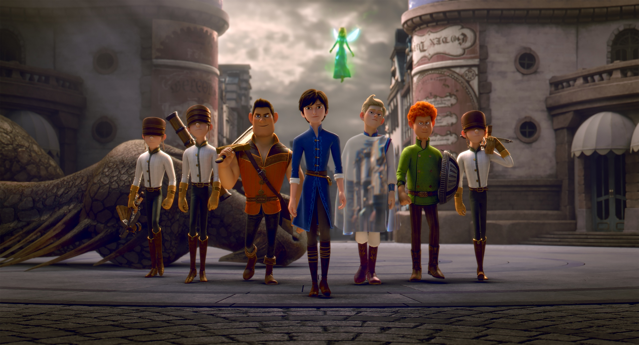 Кадр из фильма «Красные туфельки и семь гномов»