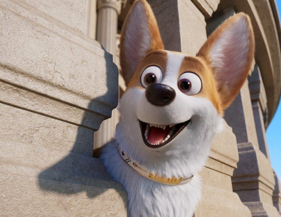 Кадр из фильма «Королевские корги»