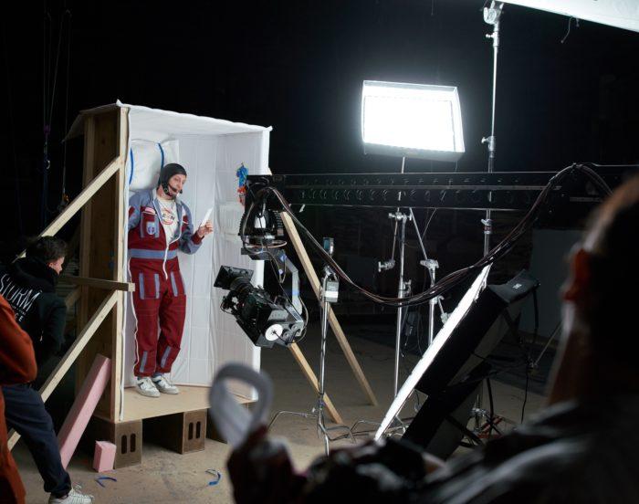 Фотография со съёмок клипа Frau&Mann (© Storm Production)
