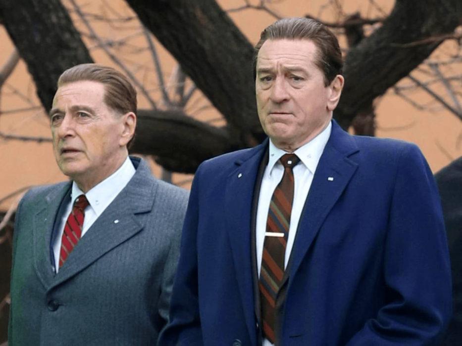 Кадр из фильма «Ирландец»
