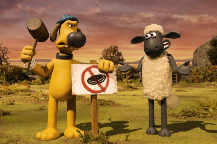 Кадр из мультфильма «Барашек Шон: Фермагеддон»