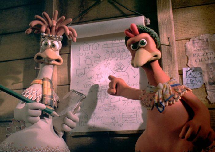 Кадр из мультфильма «Побег из курятника»