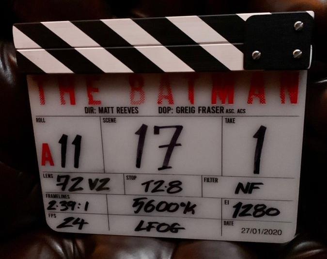 27 января официально стартовали съемки фильма про Бэтмена