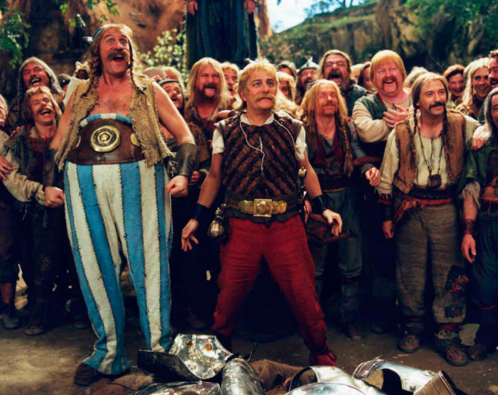Кадр из фильма «Астерикс и Обеликс против Цезаря»