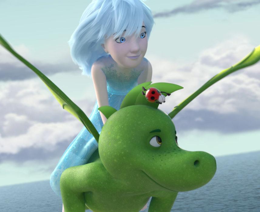 Кадр из фильма «Ледяная принцесса»