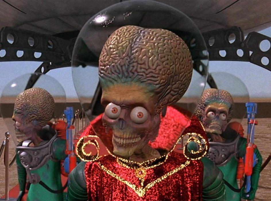 Кадр из фильма «Марс атакует!»