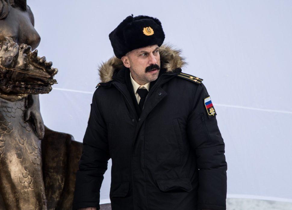 Дмитрий Нагиев. Фотография со съёмок фильма «Спасите Колю!»