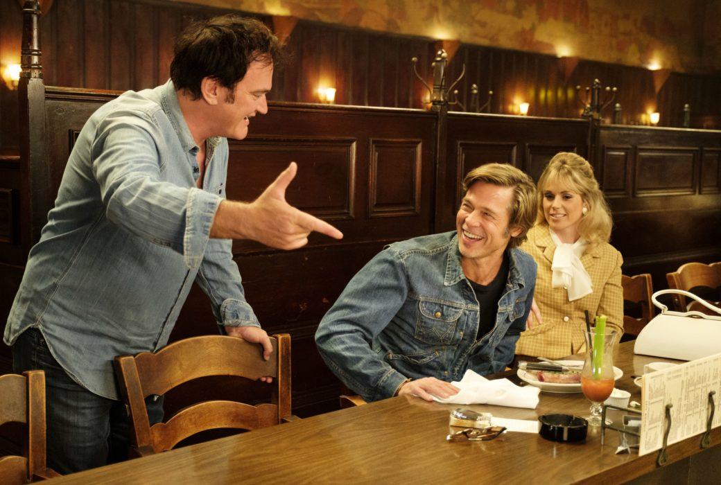Фотография со съёмок фильма «Однажды в… Голливуде»