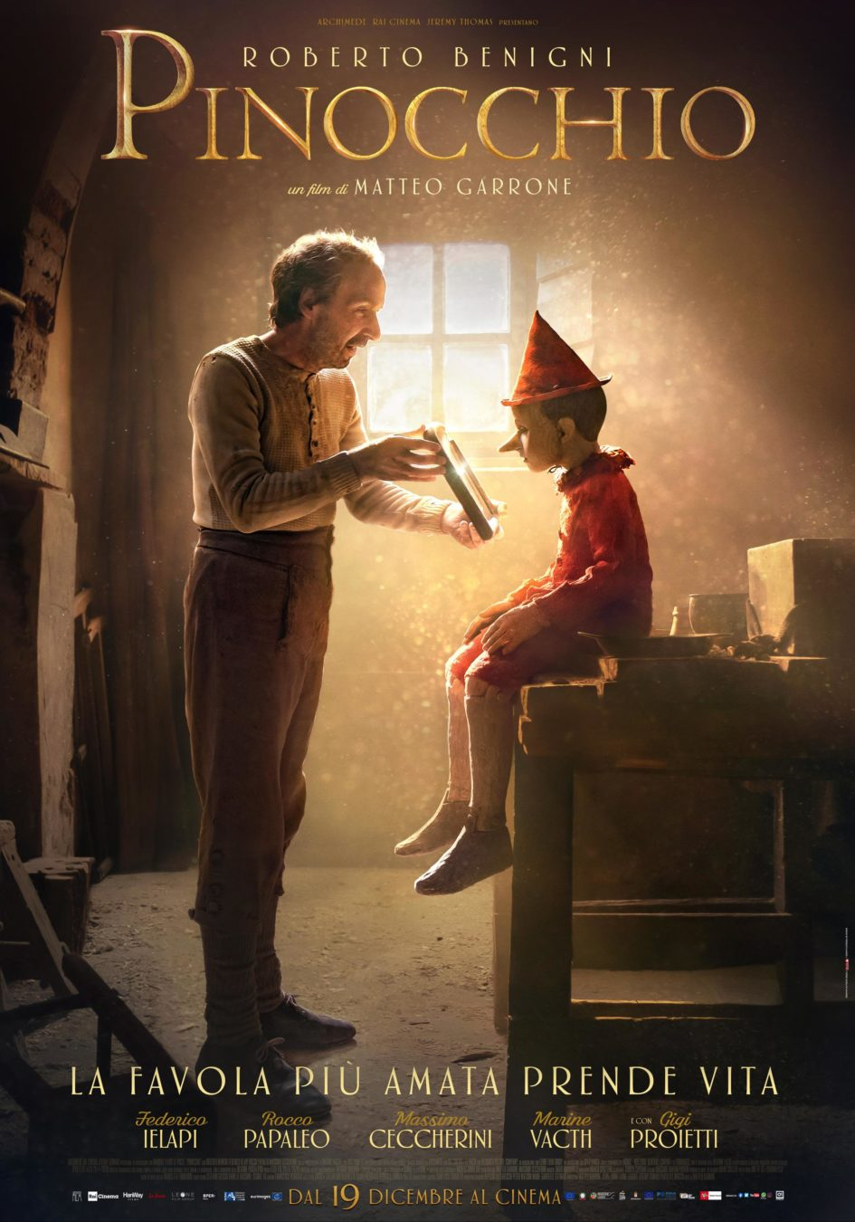 Пиноккио (2019) - OST