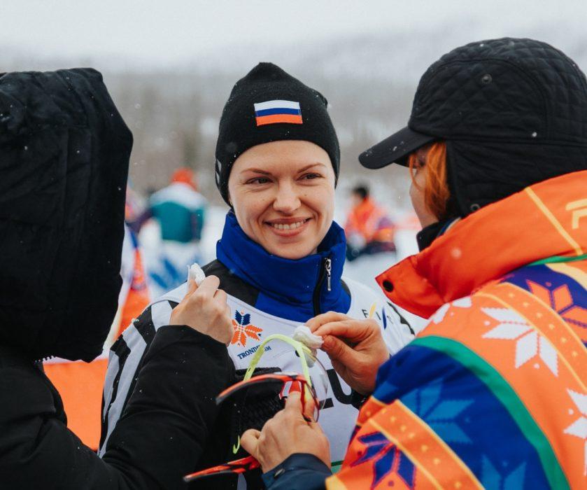 Анна Котова-Дерябина. Фотография со съёмок фильма «Белый снег»