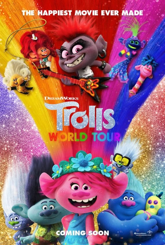 Тролли. Мировой тур (2020) — OST