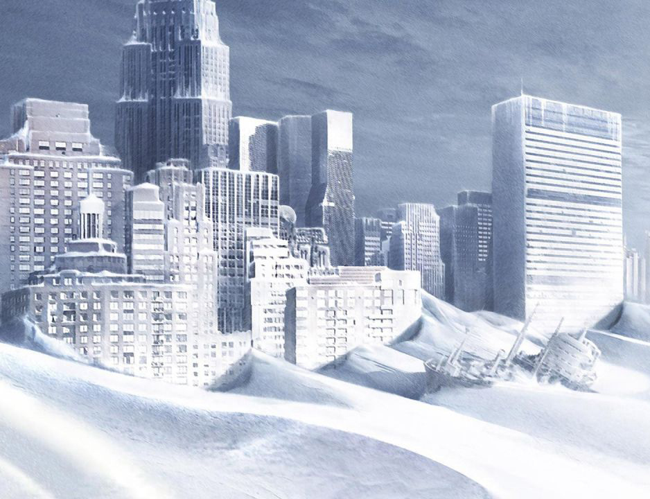А что, если после глобального потепления планету ждут запредельные заморозки: «Послезавтра»