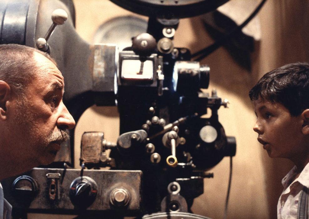 Кадр из фильма «Новый кинотеатр 'Парадизо'»
