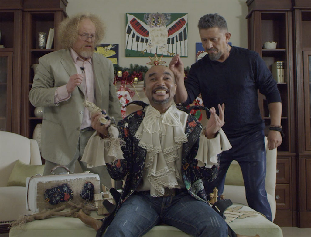 Опубликованы кадры из предстоящей новогодней комедии «Вечер шутов»