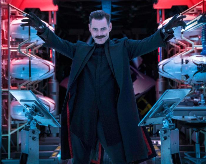 Кадр из фильма «Соник в кино»