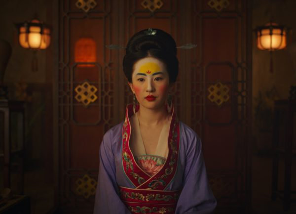 Кадр из фильма «Мулан»
