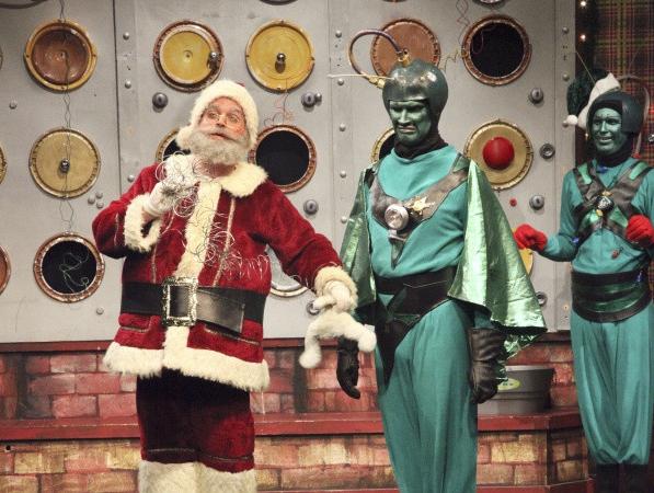 «План 9» для детей: «Санта Клаус завоевывает марсиан»
