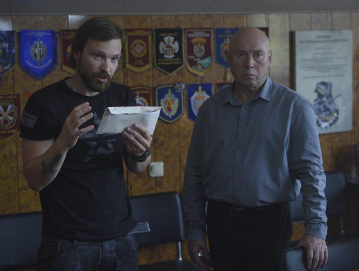 Фотография со съёмок фильма «Джон»