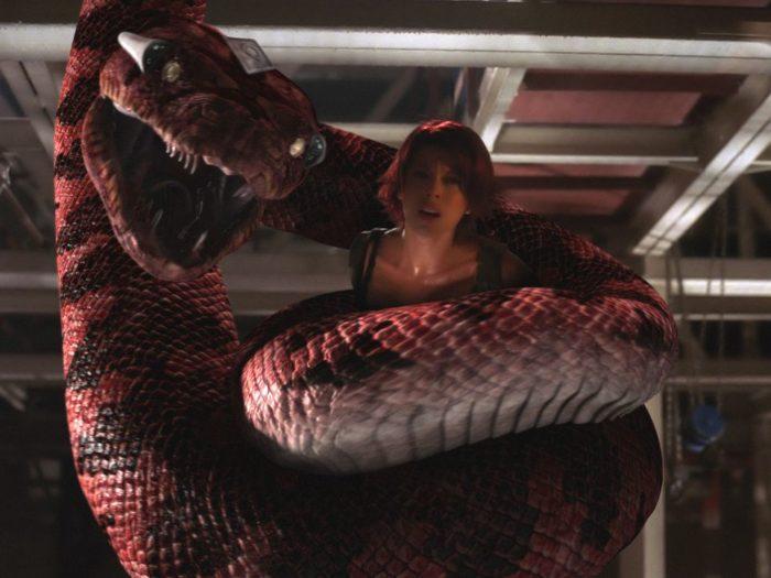 Кадр из фильма «Боа против Питона»
