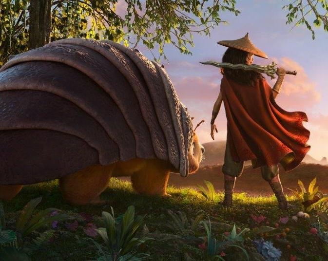 Опубликован первый кадр из мультфильма от Walt Disney Animation «Райя и последний дракон»