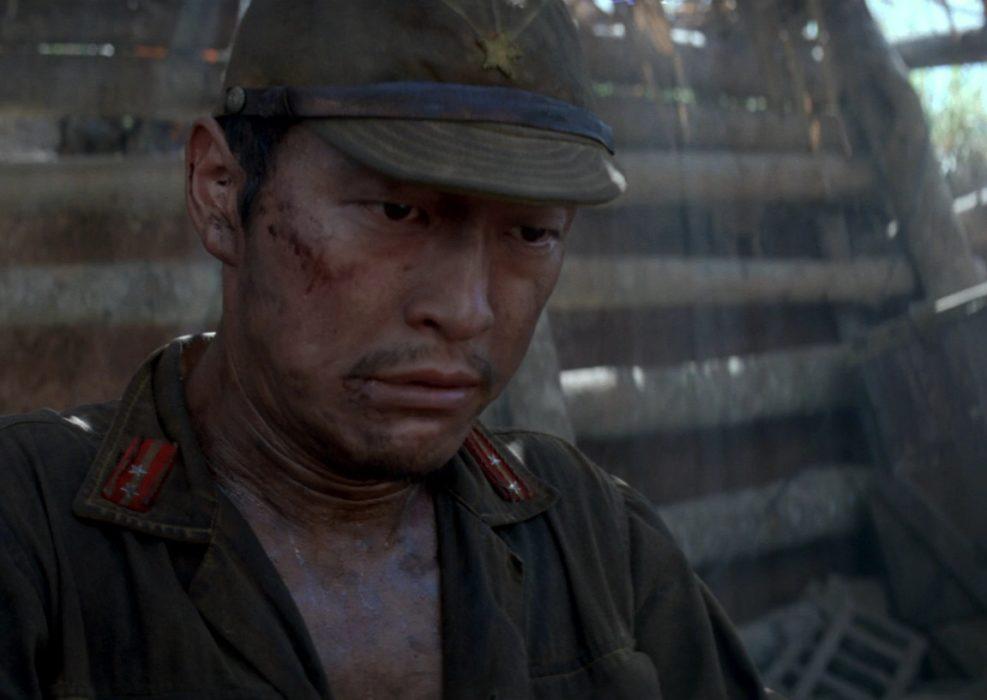 Кадр из фильма «Тонкая красная линия»