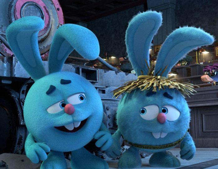 Кадр из мультфильма «Смешарики. Дежавю»