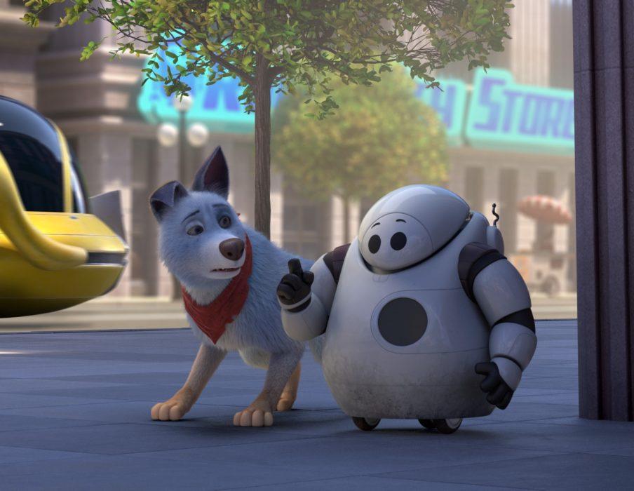 Кадр из мультфильма «Союз зверей: Спасение двуногих»