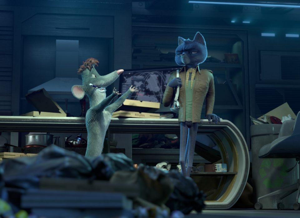 Кадр из мультфильма «Кот под прикрытием»