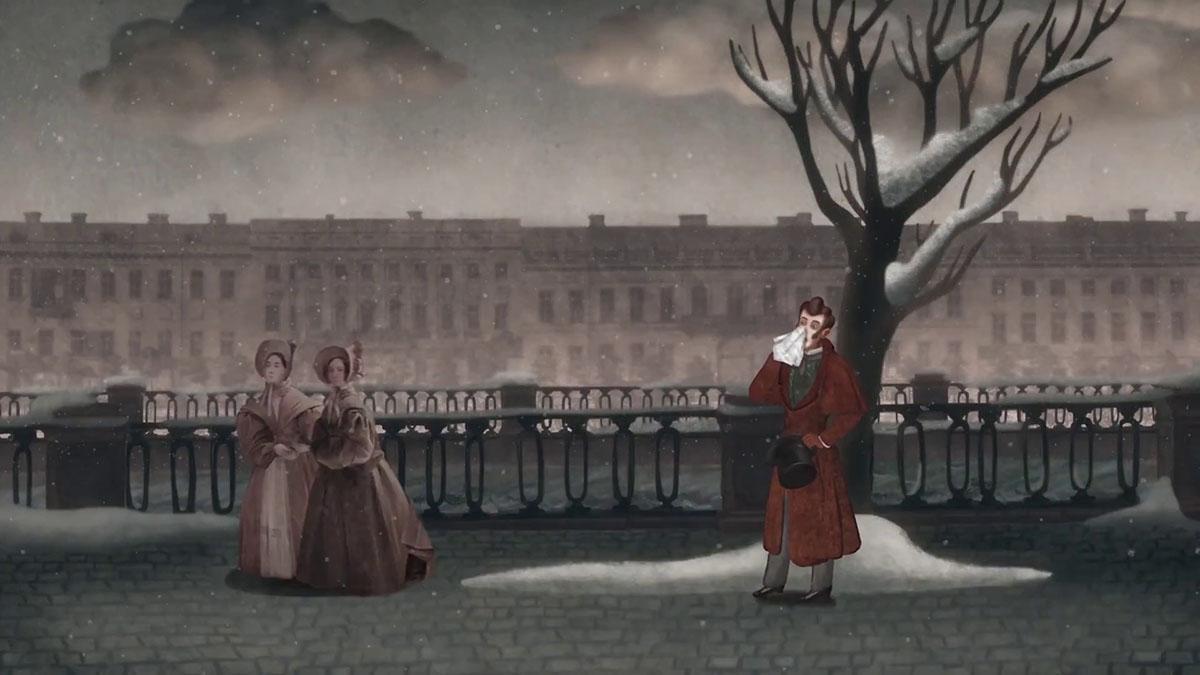 Кадр из фильма «Нос или заговор «не таких»