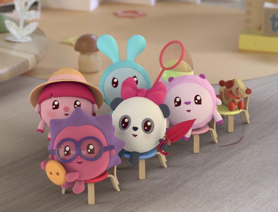 Кадр из мультфильма «Малышарики»