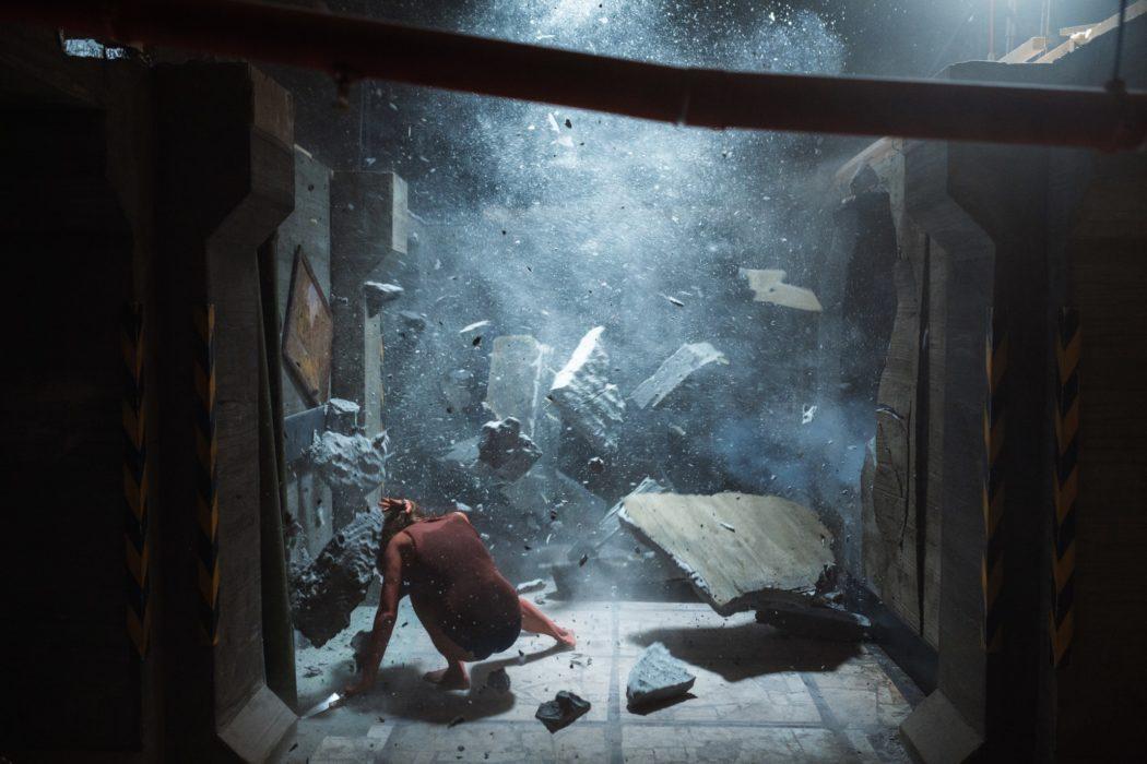 Фотография со съёмок фильма «Кольская сверхглубокая»