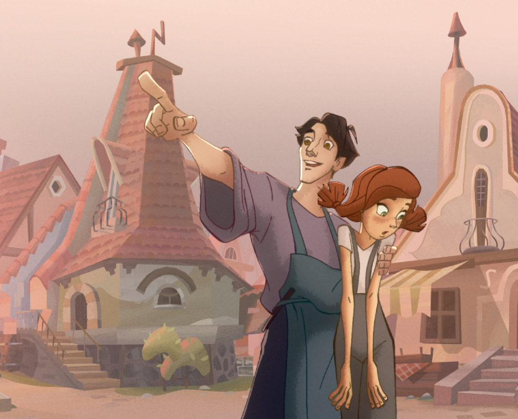 Авторы рассказали о работе над мультфильмом по мотивам сказки Ганса Христиана Андерсена «Огонёк-огниво»