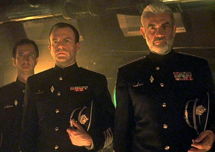Кадр из фильма «Охота за «Красным октябрём»
