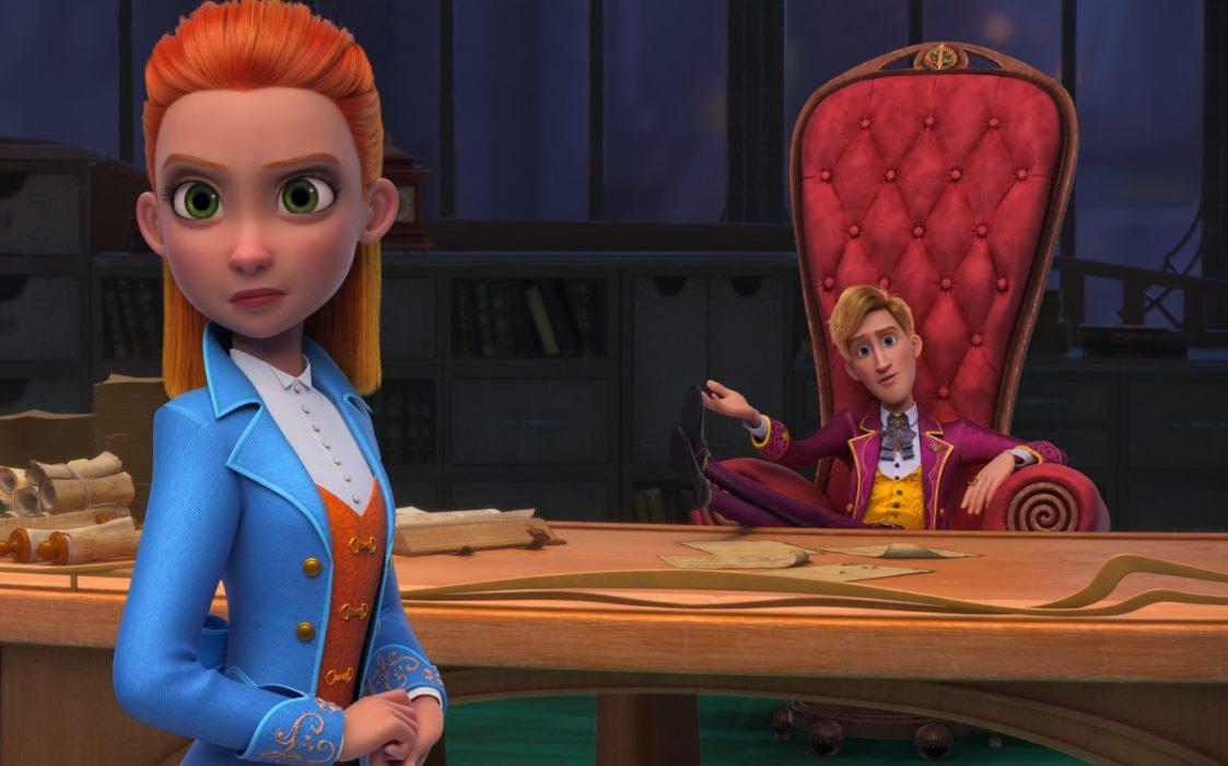 Кадр из мультфильма «Ганзель, Гретель и агентство магии»