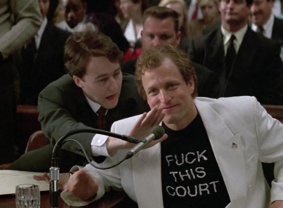 Кадр из фильма «Народ против Ларри Флинта»