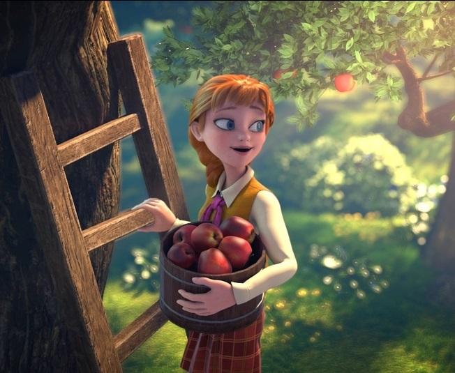Кадр из мультфильма «Академии магии»