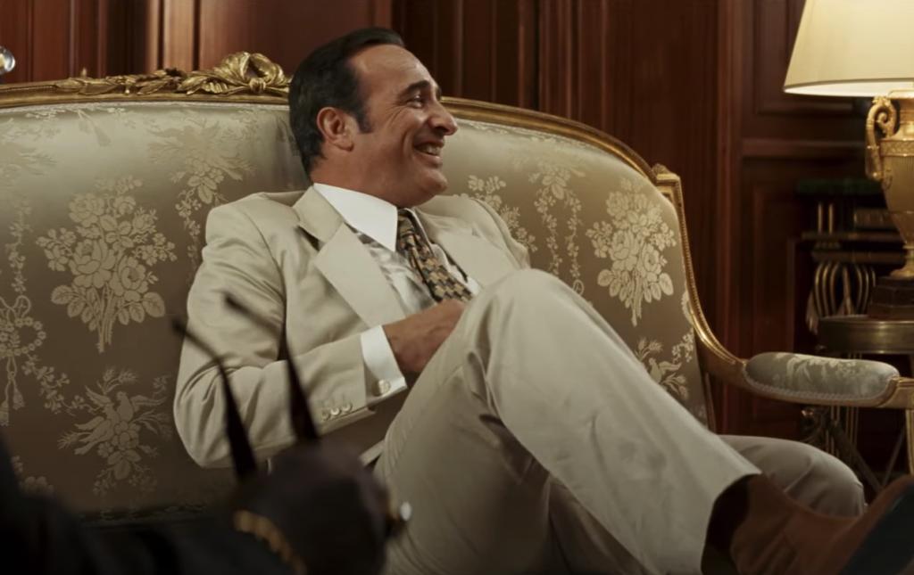 Жан Дюжарден на непокорённом юге: выходит комедия «Из Африки с любовью»