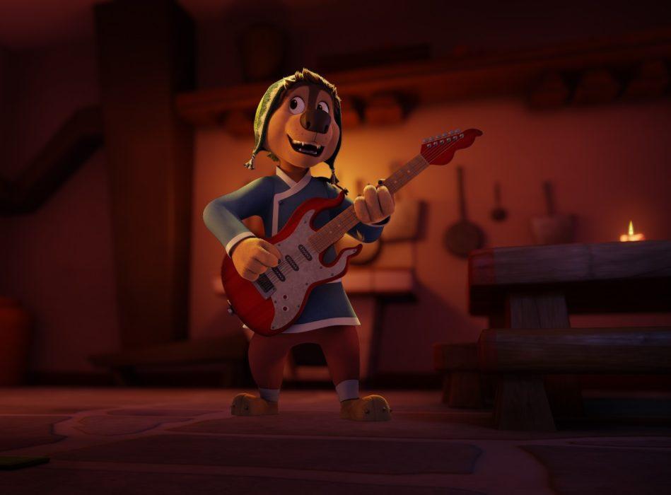 Кадр из мультфильма «Рок дог 2»
