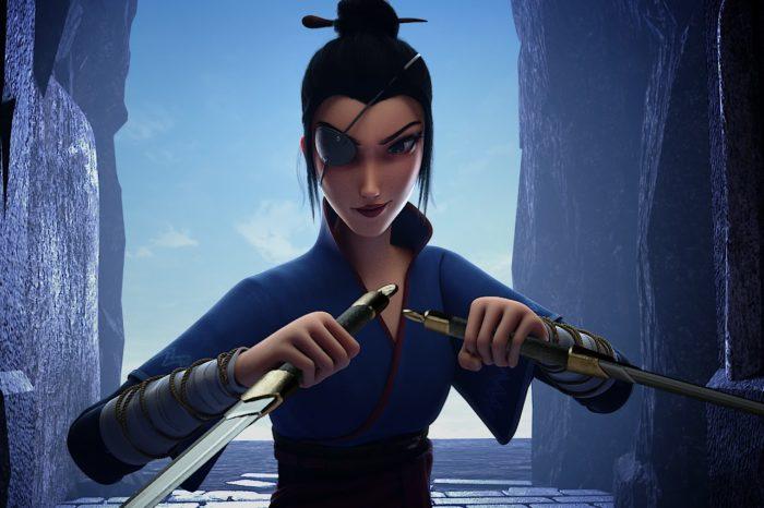 Кадр из мультфильма «Мулан. Новая легенда»