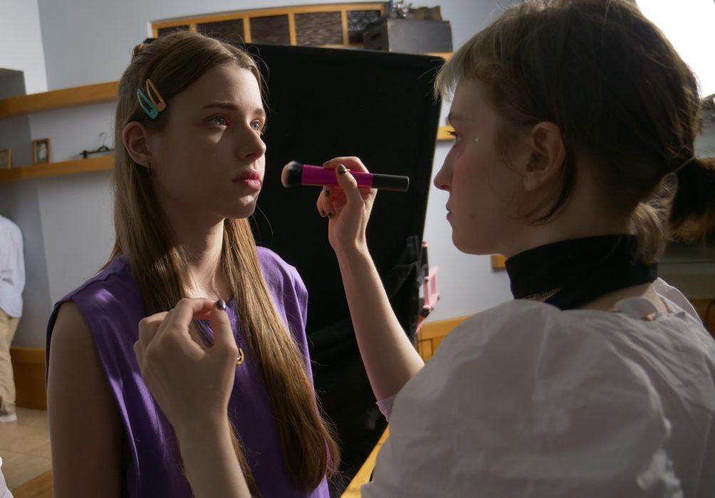 Фотография со съёмок фильма «Голова-жестянка»